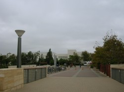 Cloudy SDSU morning